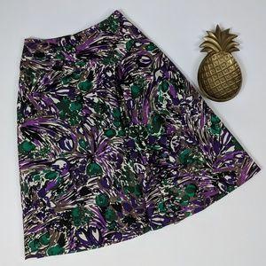 Elie Tahari Print Skirt